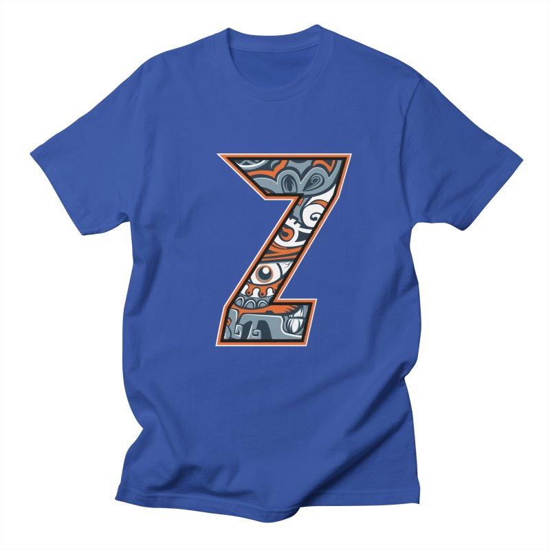 Crazy Face_Z002 Men's T-Shirt by Art of Yaky Artist Shop