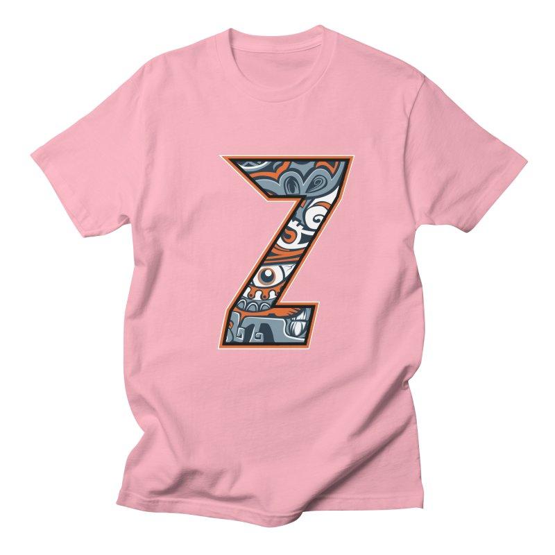 Crazy Face_Z002 Men's Regular T-Shirt by Art of Yaky Artist Shop
