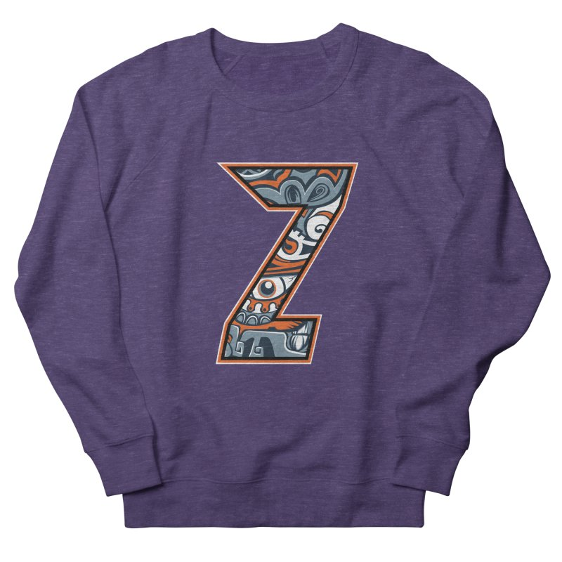 Crazy Face_Z002 Women's French Terry Sweatshirt by Art of Yaky Artist Shop