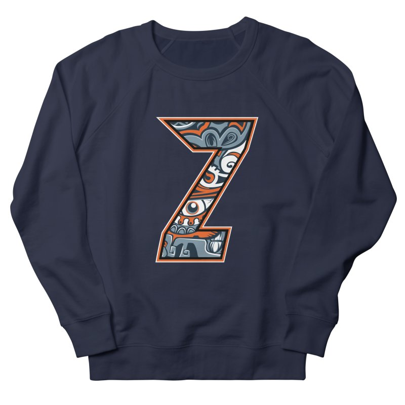Crazy Face_Z002 Men's French Terry Sweatshirt by Art of Yaky Artist Shop
