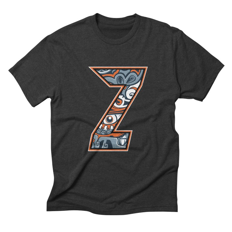 Crazy Face_Z002 Men's Triblend T-Shirt by Art of Yaky Artist Shop
