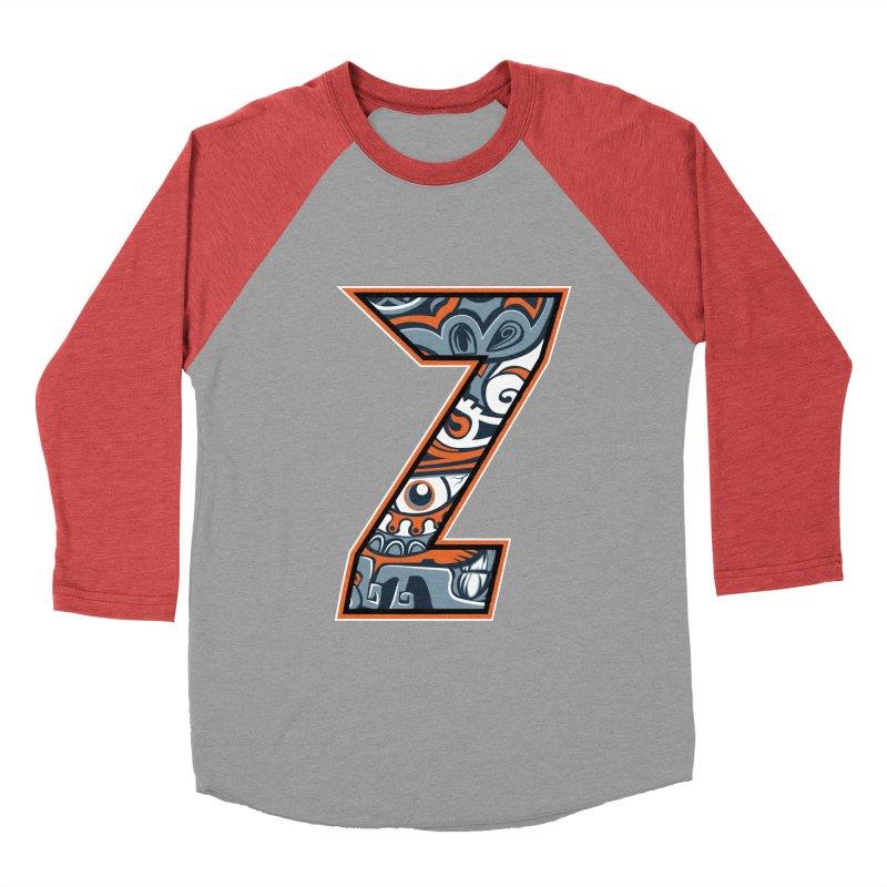 Crazy Face_Z002 Women's Baseball Triblend Longsleeve T-Shirt by Art of Yaky Artist Shop