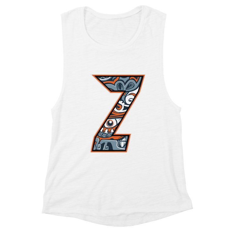 Crazy Face_Z002 Women's Tank by Art of Yaky Artist Shop