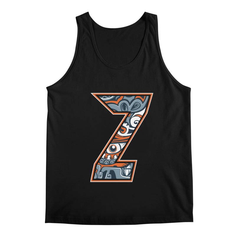 Crazy Face_Z002 Men's Regular Tank by Art of Yaky Artist Shop