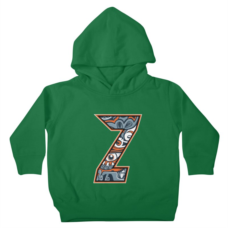Crazy Face_Z002 Kids Toddler Pullover Hoody by Art of Yaky Artist Shop