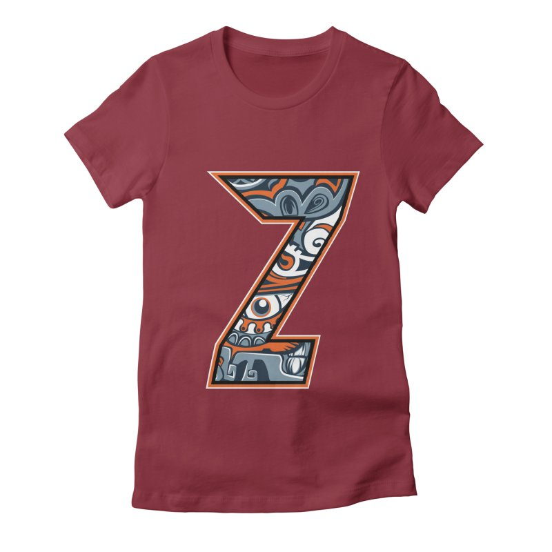 Crazy Face_Z002 Women's T-Shirt by Art of Yaky Artist Shop