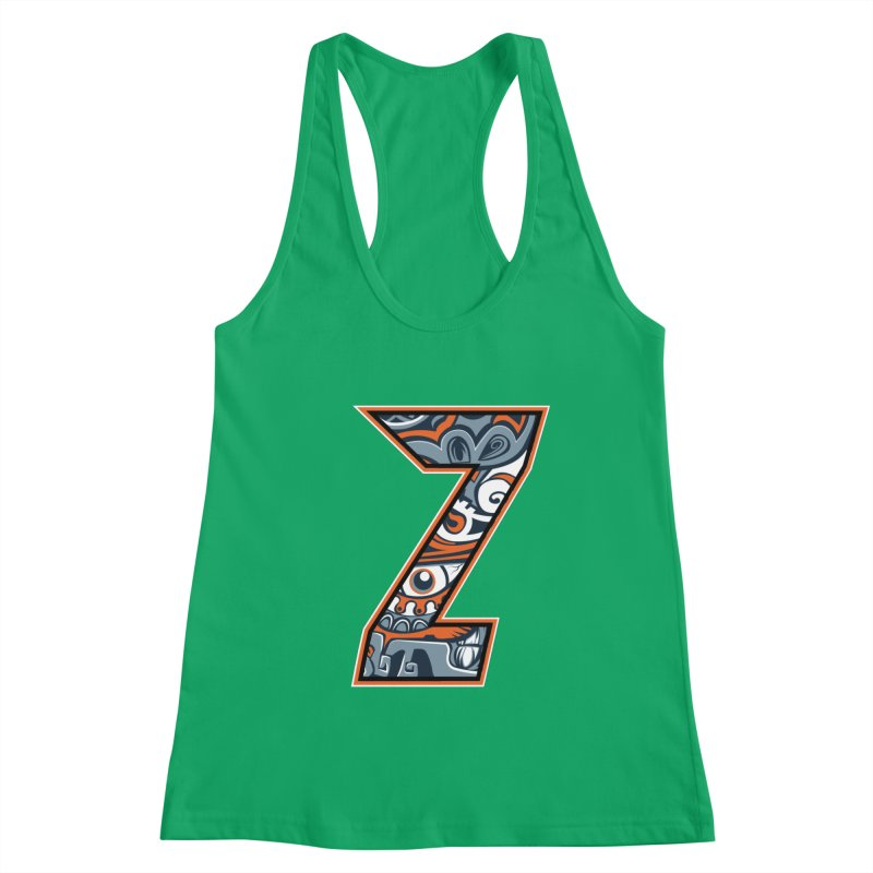 Crazy Face_Z002 Women's Tank by Art of Yaky Artist Shop