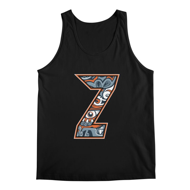 Crazy Face_Z002 Men's Regular Tank by Art of Yaky Artist Shop
