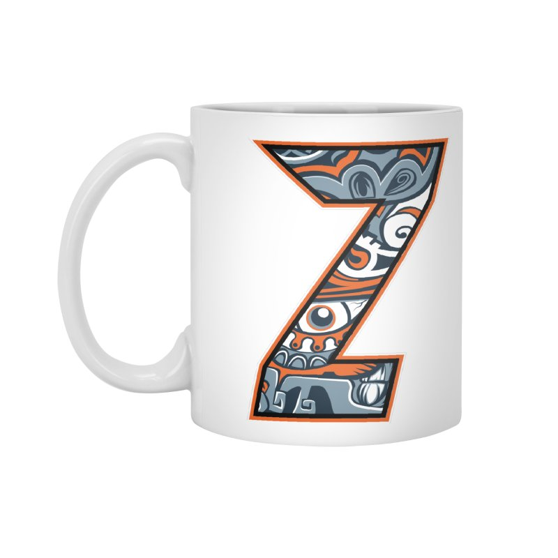 Crazy Face_Z002 Accessories Mug by Art of Yaky Artist Shop