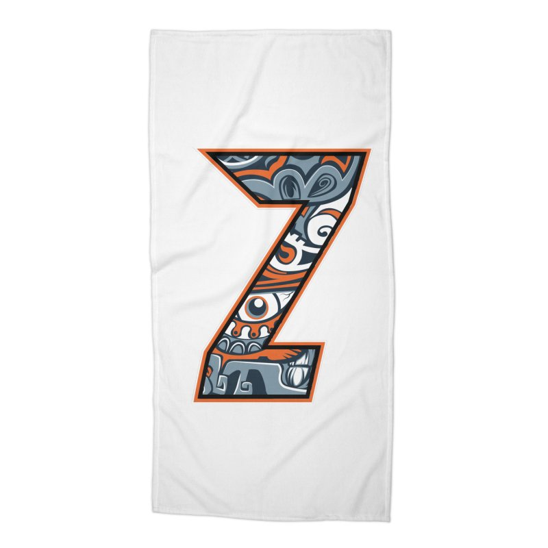 Crazy Face_Z002 Accessories Beach Towel by Art of Yaky Artist Shop