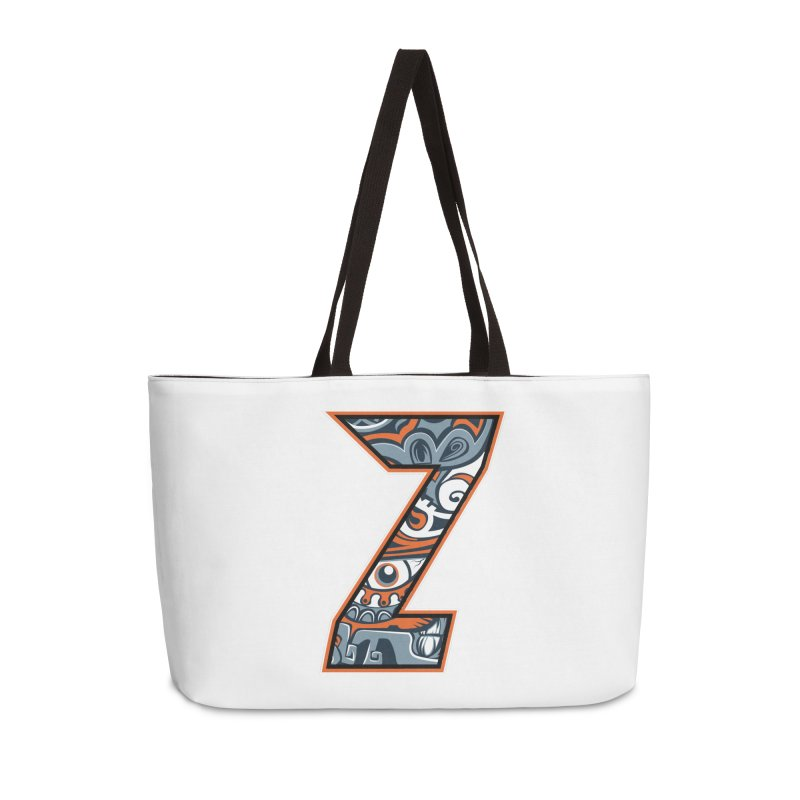 Crazy Face_Z002 Accessories Weekender Bag Bag by Art of Yaky Artist Shop