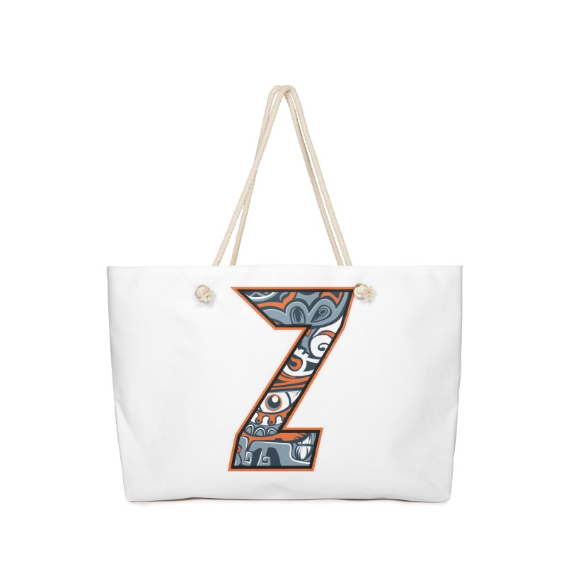 Crazy Face_Z002 Accessories Bag by Art of Yaky Artist Shop