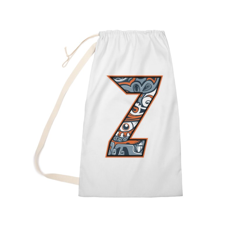 Crazy Face_Z002 Accessories Laundry Bag Bag by Art of Yaky Artist Shop