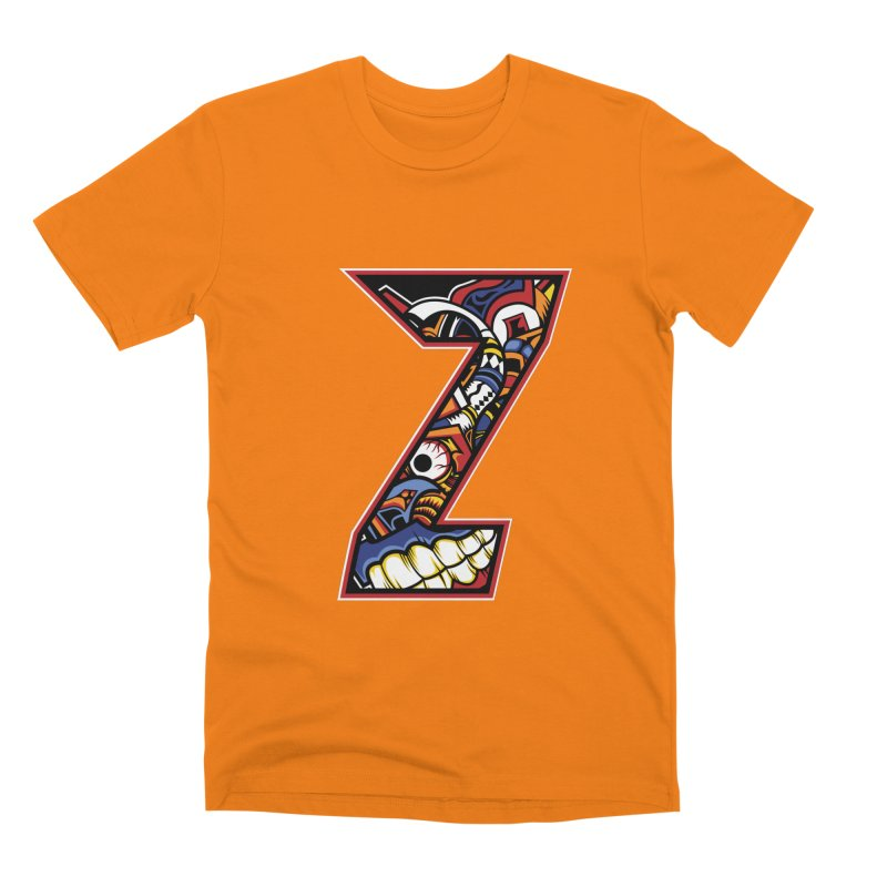 Crazy Face_Z003 Men's T-Shirt by Art of Yaky Artist Shop