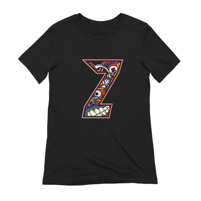 Crazy Face_Z003 Women's Extra Soft T-Shirt by Art of Yaky Artist Shop