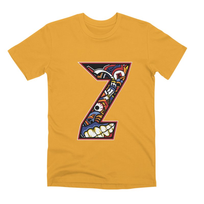 Crazy Face_Z003 Men's Premium T-Shirt by Art of Yaky Artist Shop