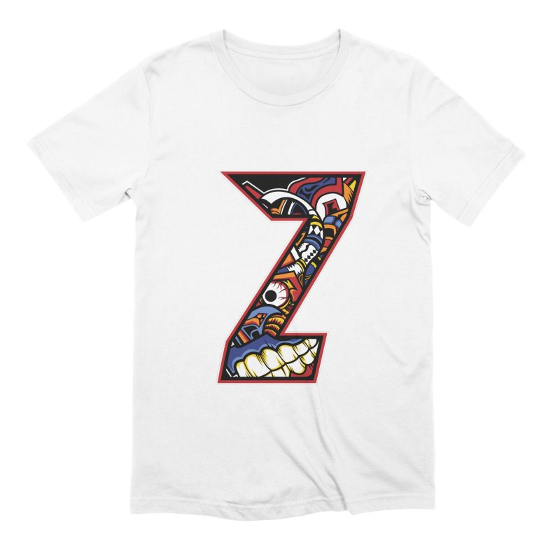 Crazy Face_Z003 Men's Extra Soft T-Shirt by Art of Yaky Artist Shop