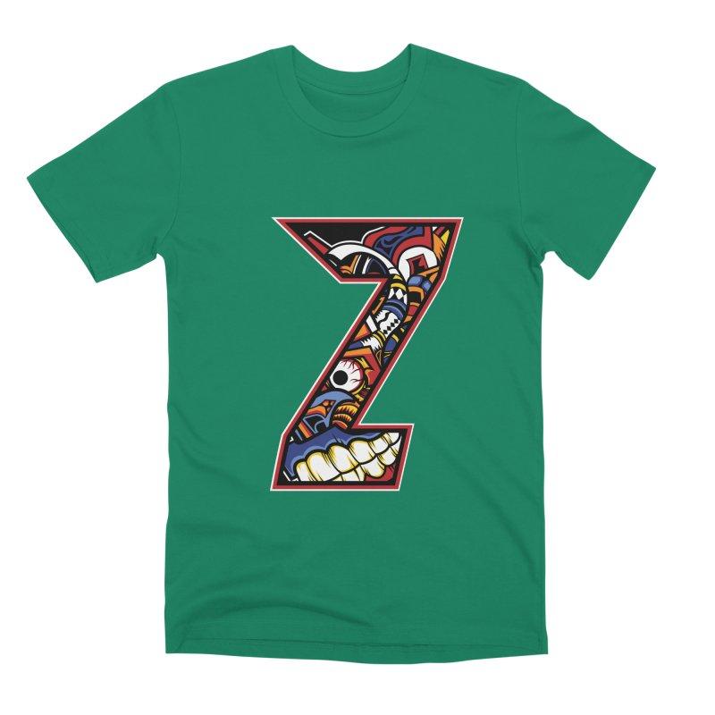Crazy Face_Z003 Men's Premium T-Shirt by Art of Yaky Artist Shop