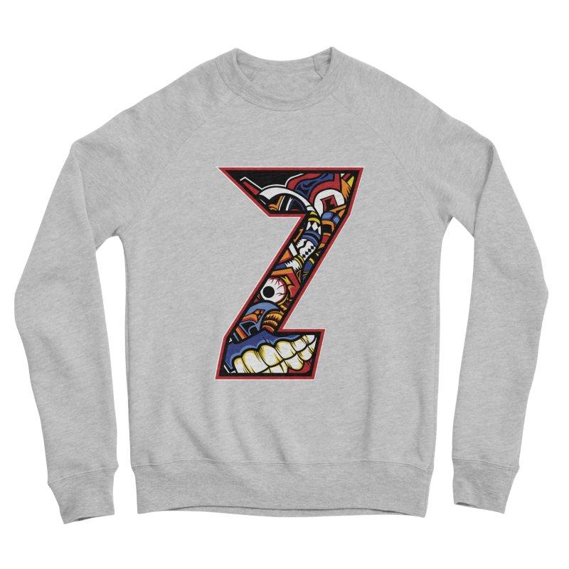Crazy Face_Z003 Men's Sponge Fleece Sweatshirt by Art of Yaky Artist Shop