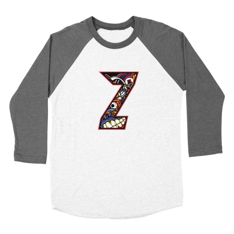 Crazy Face_Z003 Women's Longsleeve T-Shirt by Art of Yaky Artist Shop