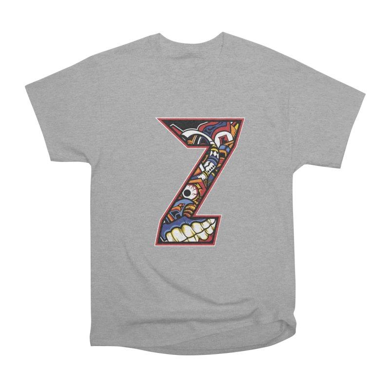 Crazy Face_Z003 Men's Heavyweight T-Shirt by Art of Yaky Artist Shop