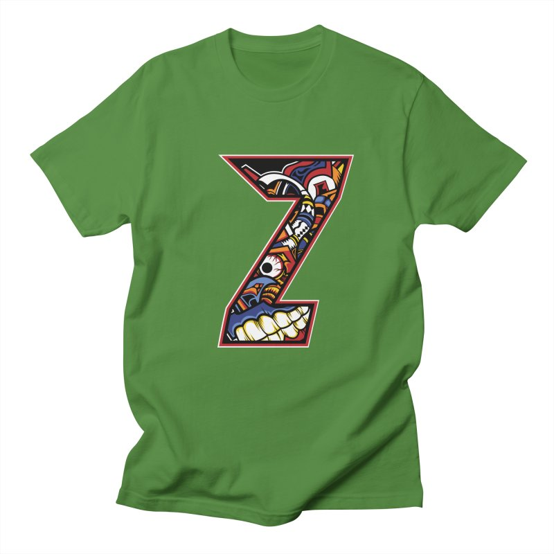 Crazy Face_Z003 Women's Regular Unisex T-Shirt by Art of Yaky Artist Shop
