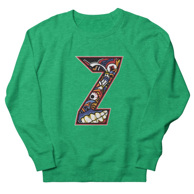 Crazy Face_Z003 Women's Sweatshirt by Art of Yaky Artist Shop