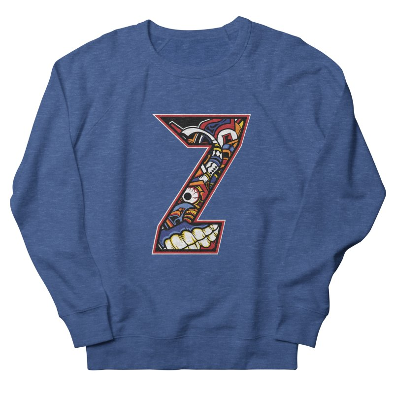 Crazy Face_Z003 Men's Sweatshirt by Art of Yaky Artist Shop
