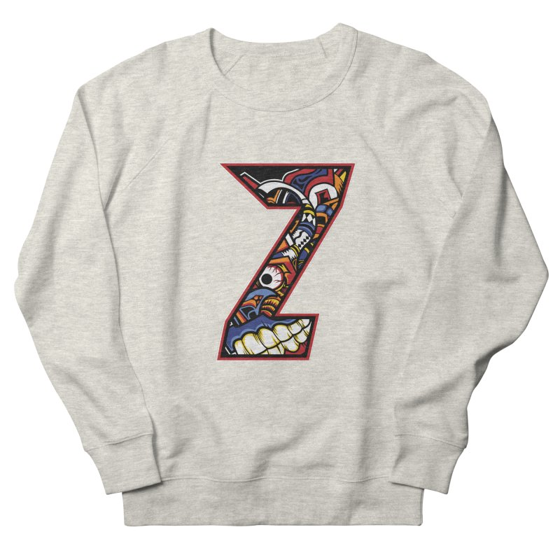 Crazy Face_Z003 Men's French Terry Sweatshirt by Art of Yaky Artist Shop