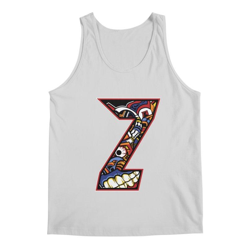 Crazy Face_Z003 Men's Regular Tank by Art of Yaky Artist Shop
