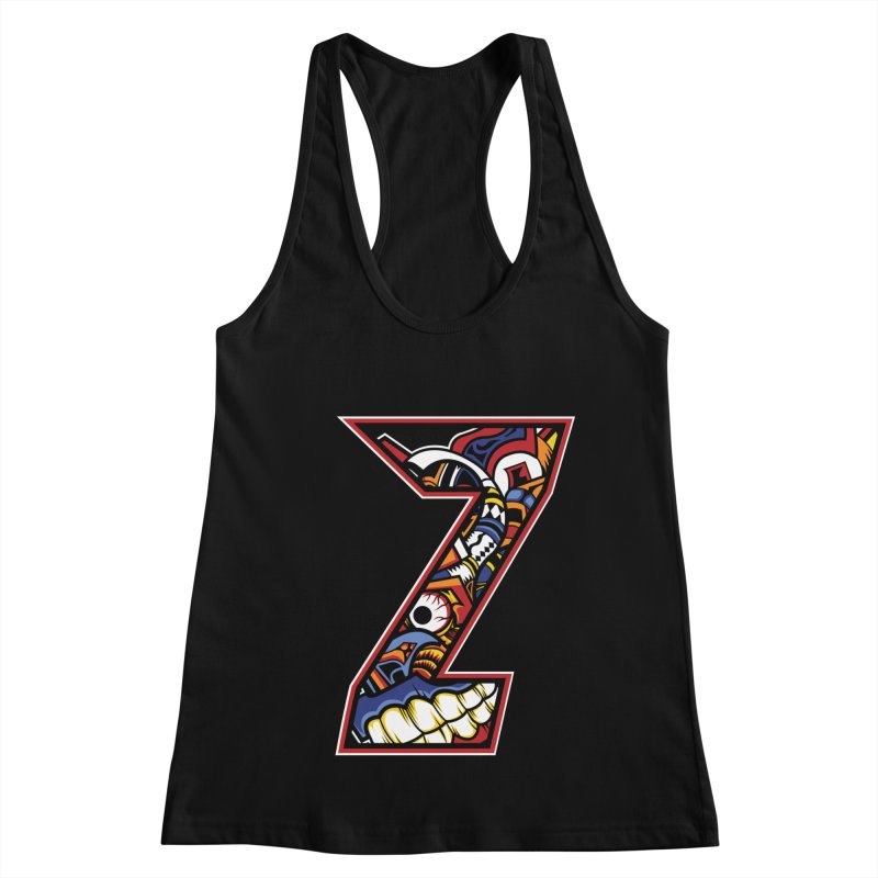 Crazy Face_Z003 Women's Tank by Art of Yaky Artist Shop