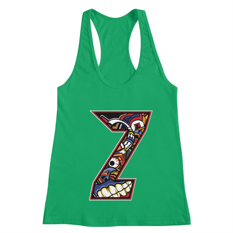 Crazy Face_Z003 Women's Tank by Art of Yaky Artist Shop