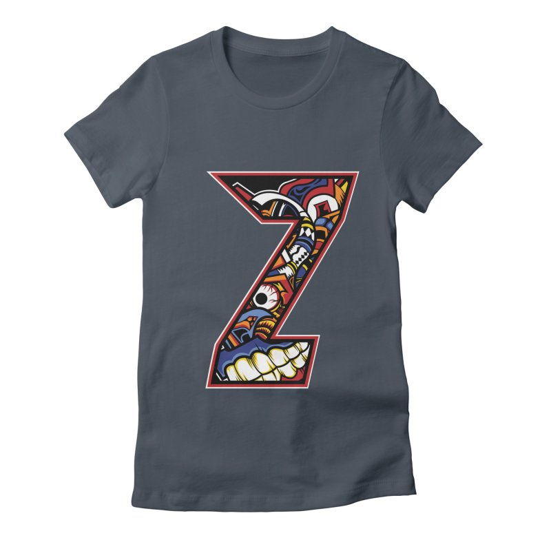 Crazy Face_Z003 Women's T-Shirt by Art of Yaky Artist Shop