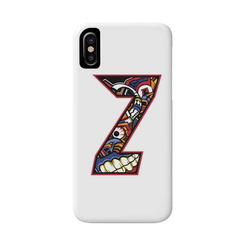 Crazy Face_Z003 Accessories Phone Case by Art of Yaky Artist Shop