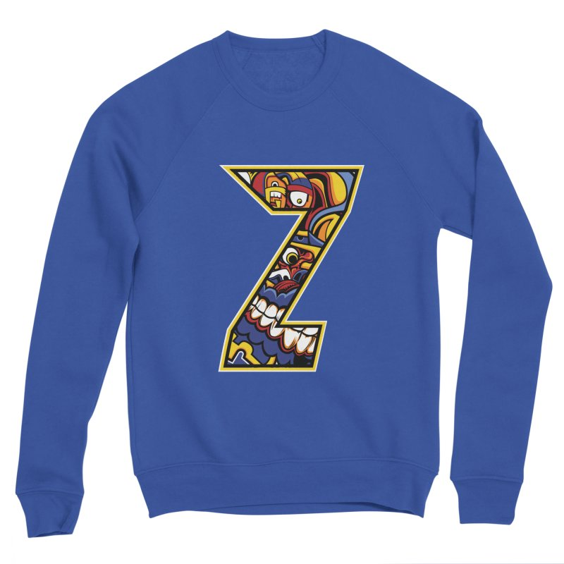 Crazy Face_Z004 Men's Sweatshirt by Art of Yaky Artist Shop
