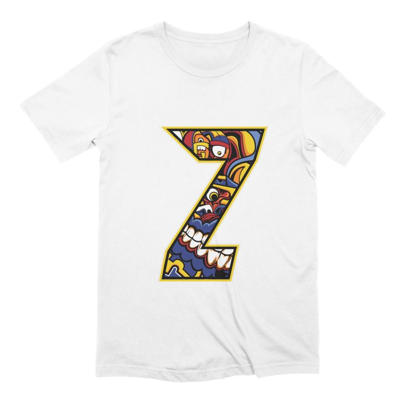 Crazy Face_Z004 Men's Extra Soft T-Shirt by Art of Yaky Artist Shop