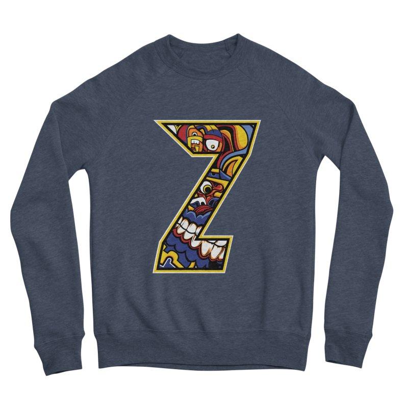 Crazy Face_Z004 Women's Sponge Fleece Sweatshirt by Art of Yaky Artist Shop