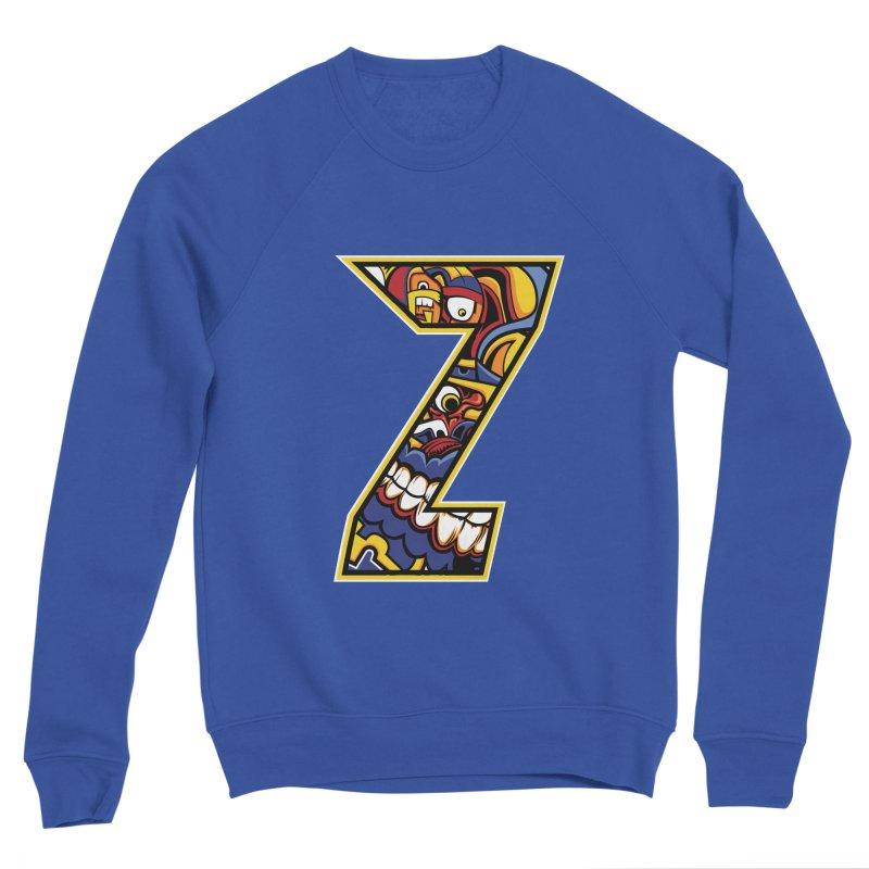 Crazy Face Aplphabet (Z) Women's Sweatshirt by Yaky's Customs