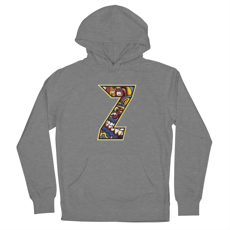 Crazy Face_Z004 Women's Pullover Hoody by Art of Yaky Artist Shop
