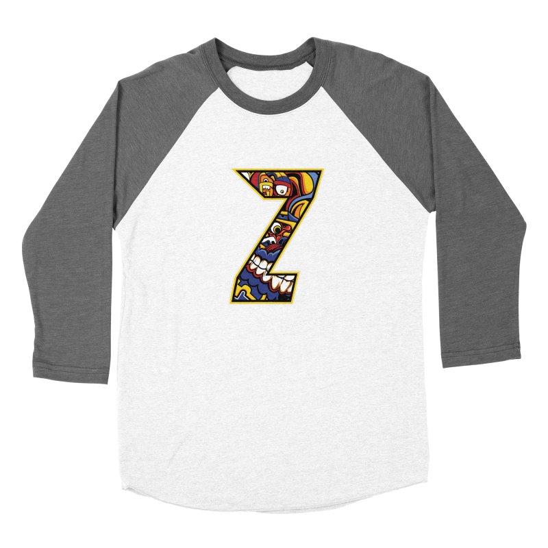 Crazy Face Aplphabet (Z) Women's Longsleeve T-Shirt by Yaky's Customs