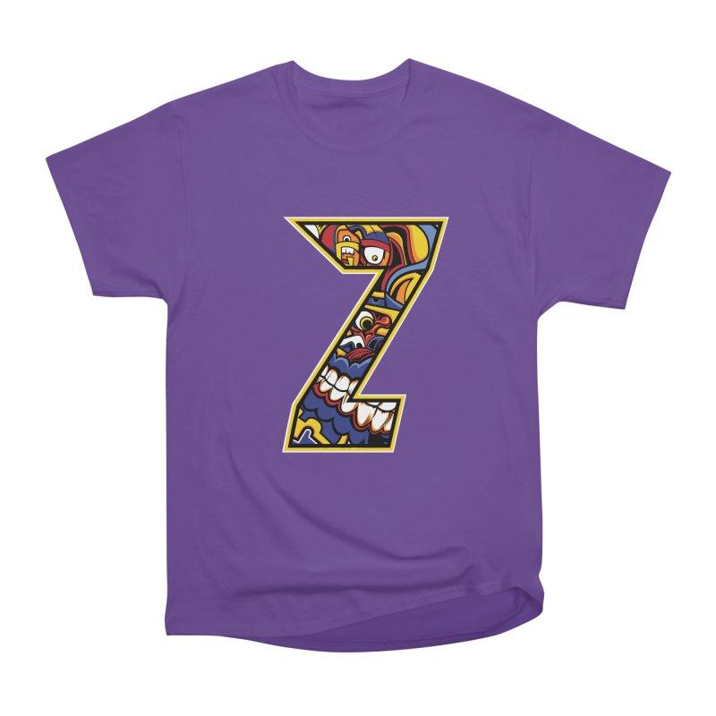 Crazy Face_Z004 Men's Heavyweight T-Shirt by Art of Yaky Artist Shop