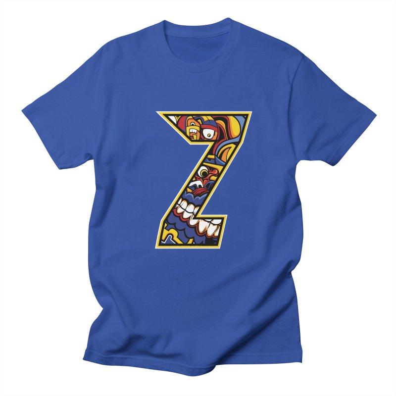 Crazy Face_Z004 Women's Regular Unisex T-Shirt by Art of Yaky Artist Shop