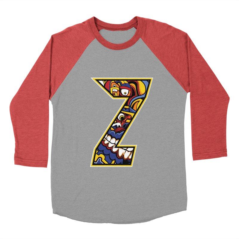 Crazy Face_Z004 Women's Longsleeve T-Shirt by Art of Yaky Artist Shop
