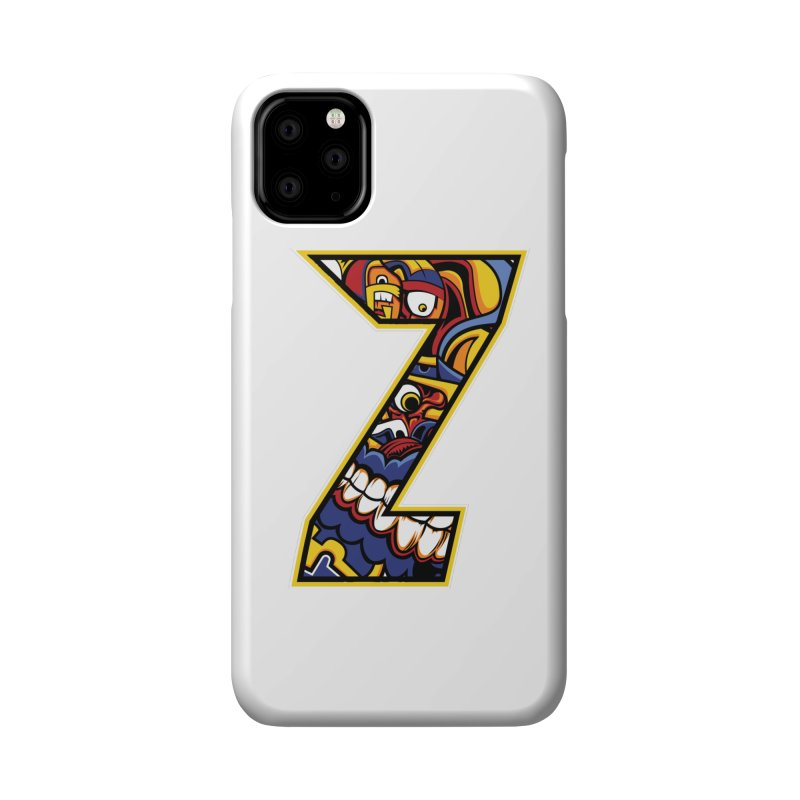 Crazy Face_Z004 Accessories Phone Case by Art of Yaky Artist Shop