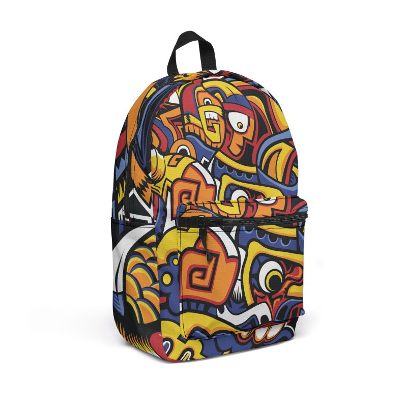 IFC_Design_C02 in Backpack by Art of Yaky Artist Shop