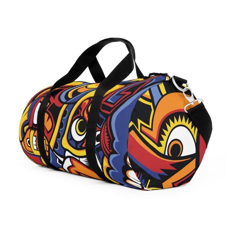 IFC_Design_C02 Accessories Duffel Bag Bag by Art of Yaky Artist Shop