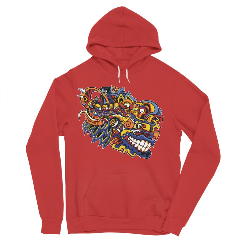 IFC_Design_C02 Women's Pullover Hoody by Art of Yaky Artist Shop