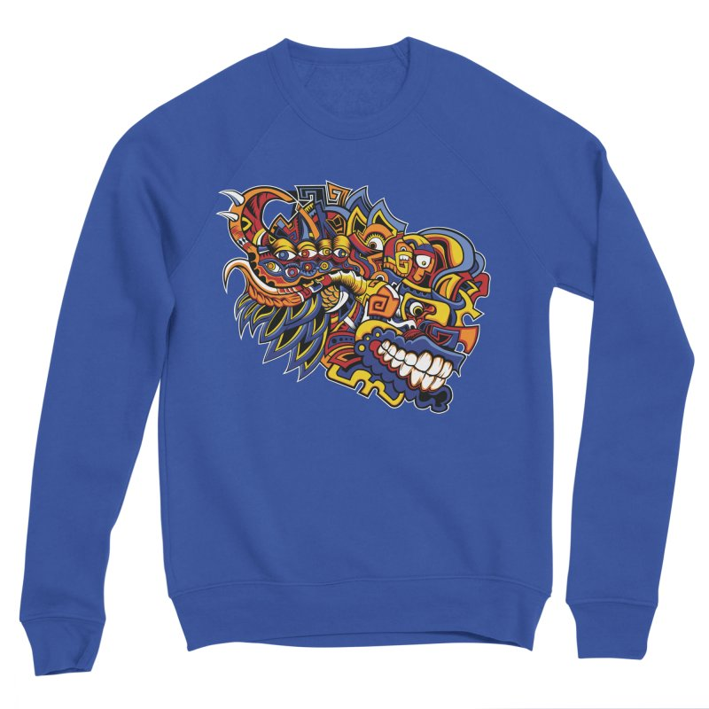 IFC_Design_C02 Men's Sweatshirt by Art of Yaky Artist Shop