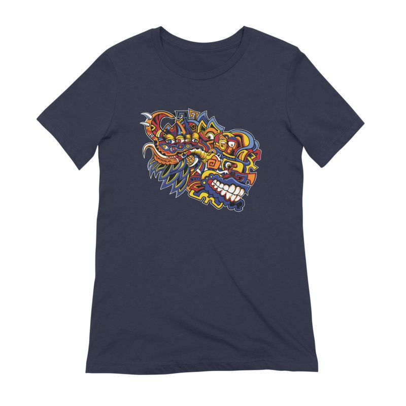 IFC_Design_C02 Women's Extra Soft T-Shirt by Art of Yaky Artist Shop