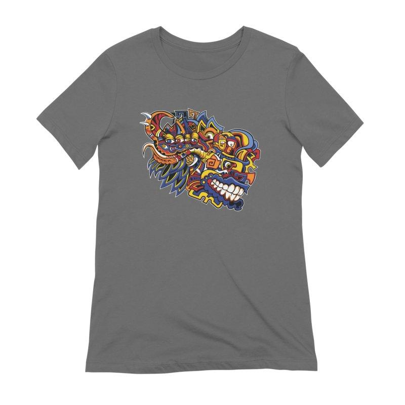 IFC_Design_C02 Women's Extra Soft T-Shirt by Art of Yaky Artist Shop